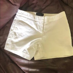 Cynthia rowley white shorts
